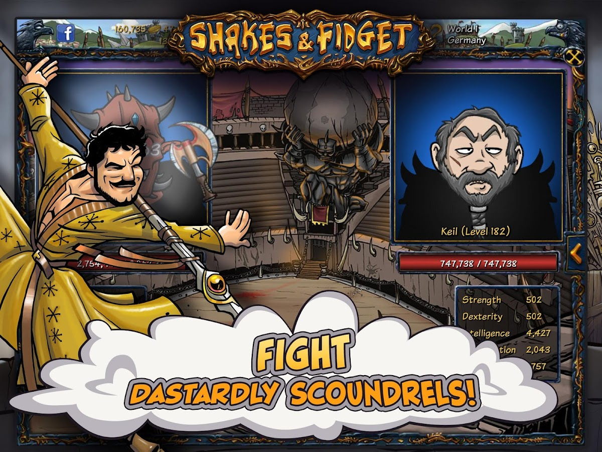 Shakes and Fidget Screenshot 12