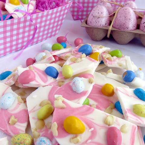 Macadamia Nut Easter Candy Bark