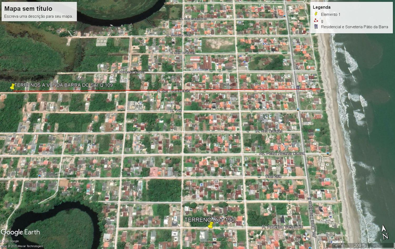 Terreno localizado em Itapoá, Barra do Sai.  Ótima vizinhança, confira!