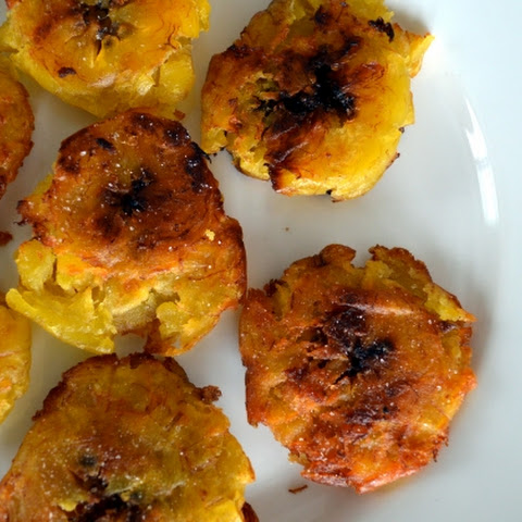 Tostones - Fried Green Plantains