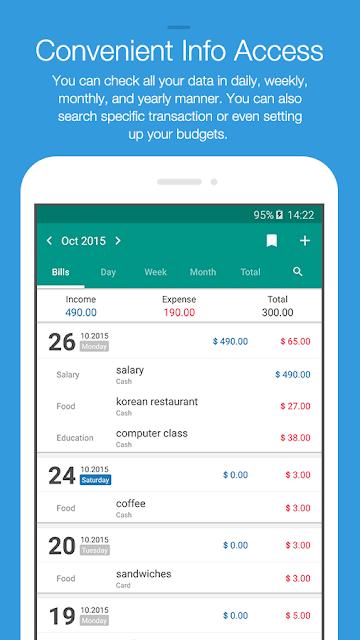 Money Manager Expense & Budget screenshots