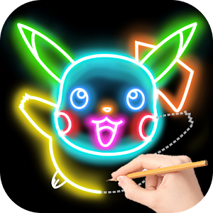 Draw Glow Cartoon For Pc Windows 7 8 10 Mac Free