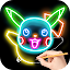 Draw Glow Cartoon for Lollipop - Android 5.0