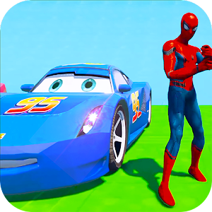 Superhero Color Cars (Supercity sim) Online PC (Windows / MAC)