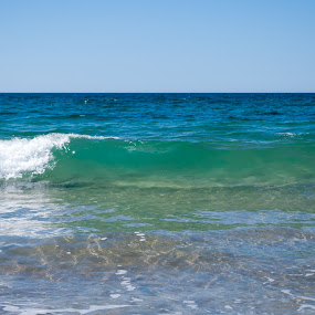 Clear sea water by Mark Luyt - Landscapes Beaches ( ocean, beach, wave, clear water, sea, crest,  )