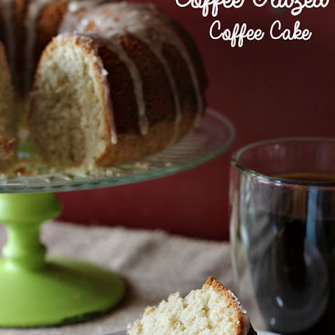 Coffee Glazed Coffee Cake