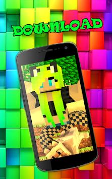 Für Mädchen Minecraft Skin Auf Apk Durch Freies Spiel Studio - Minecraft skins spiele