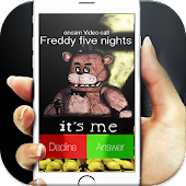 five nights fгеddy call prank APK for Bluestacks