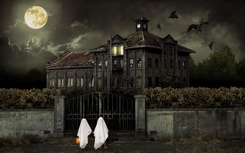 Haunted House Live Wallpaper - screenshot