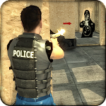 Police Cop Duty Training Icon