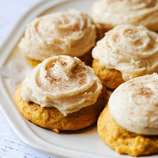 Melt-in-your-mouth-pumpkin Cookies