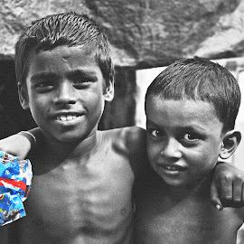 Happiness. by Nilabha Das - Babies & Children Child Portraits ( happiness, kids portrait )