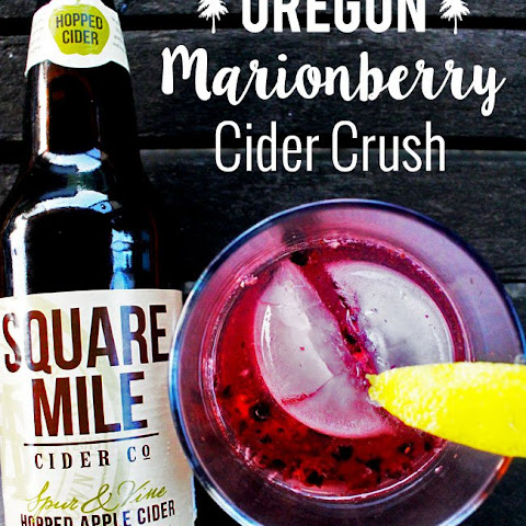 Oregon Marionberry/Blackberry Cider Crush