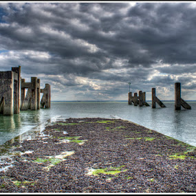 by Kev Bates - Landscapes Waterscapes ( stormy, water, clouds, hdr, sea, seascape, beach )