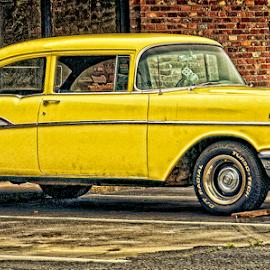 old chev by Lennie Locken - Transportation Automobiles