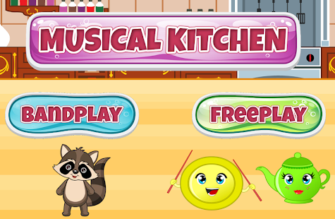 Toddler Musical Kitchen - screenshot