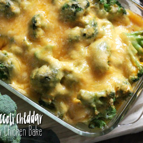 Broccoli Cheese Chicken Bake