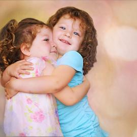 Twins by Elizabeth Liebenberg Werner - Babies & Children Children Candids