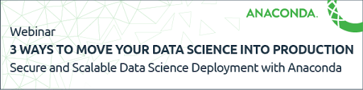 3 Ways to Move Your Data Science Into Production, May 24