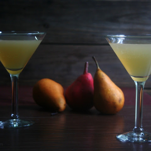 Vanilla Pear Fall Cocktail