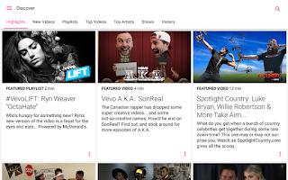 Screenshot of Vevo - Watch HD Music Videos