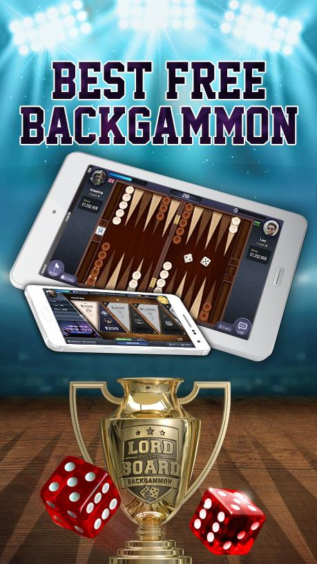 Backgammon - Lord of the Board Screenshot 0