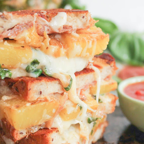 The Ultimate Hawaiian Grilled Cheese