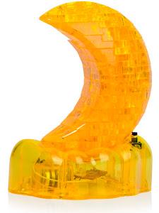 3D Crystal Puzzle Месяц L Светильник New