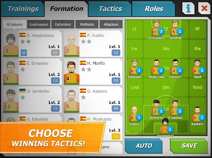11x11: Football manager APK for Kindle Fire