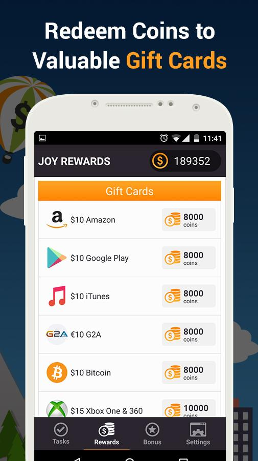 Joy Rewards - Free Gift Cards Screenshot 2