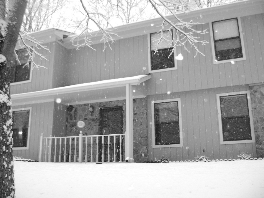 Winter in Botetourt County by Jannice Walker - Buildings & Architecture Homes