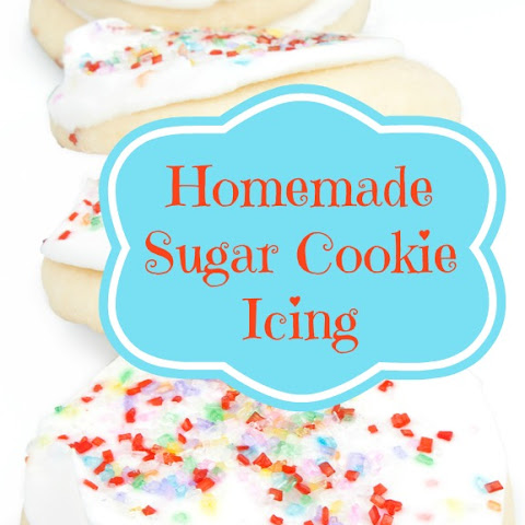 Homemade Sugar Cookie Icing
