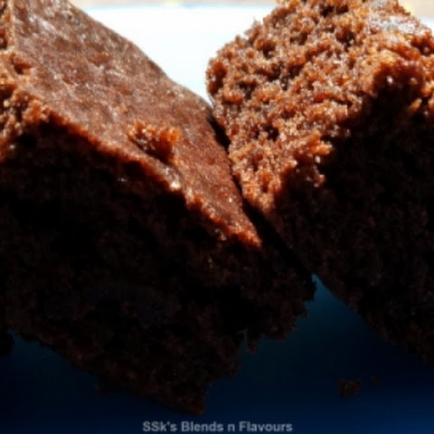 Eggless Chocolate Walnut Brownie