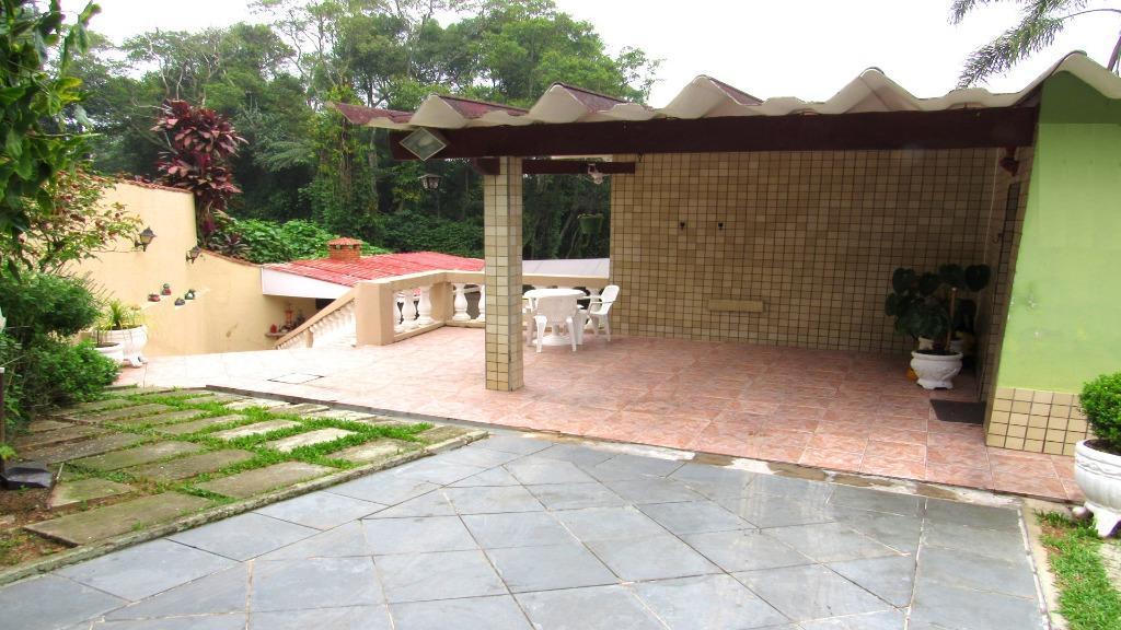 Chácara residencial à venda, Jardim Clube de Campo, Santo An