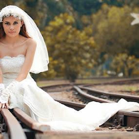 Lonesome Bride by Piko Prakoso - Wedding Bride