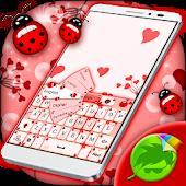 App Ladybug Keyboard Theme version 2015 APK