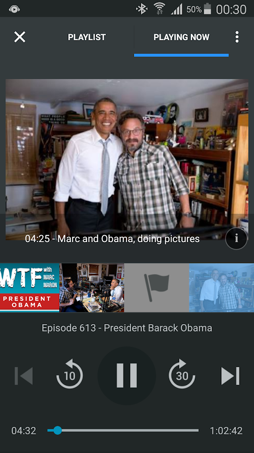 WeCast - Podcasts Screenshot 1