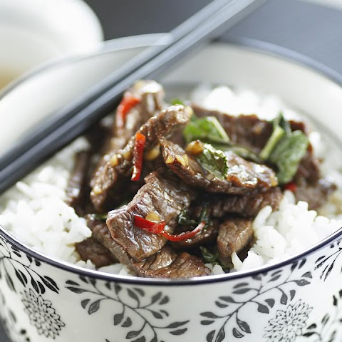 Thai Lamb with Chili and Mint