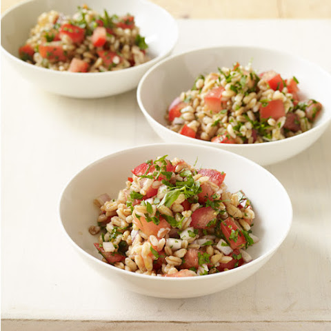 Farro Salad with Tomatoes and Balsamic Vinegar