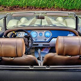 Morgan Interior by Marco Bertamé - Transportation Automobiles ( as p4, cabriolet, morgan )