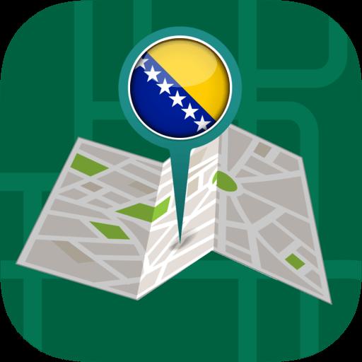 Android aplikacija ��️Offline Maps & Navigation: Bosnia Herzegovina na Android Srbija