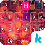 Rainy Glass  Keyboard Theme 304.0 Apk