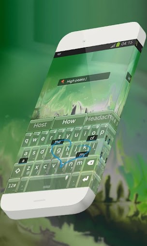 Green peaks TouchPal APK