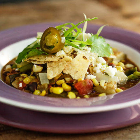 Zucchini and Corn Chili