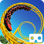 Roller Coaster 3D Icon
