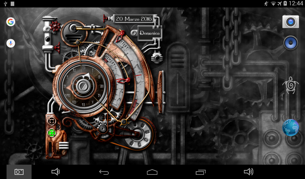 XtraOClock Steampunk Widget Screenshot 12