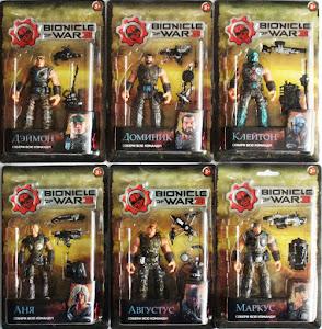 """Фигурка """"Bionicle of war"""" в ассортименте блистер"""