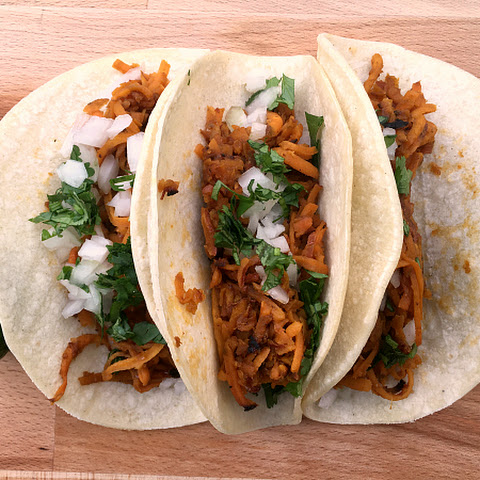Vegan Sweet Potato Street Tacos (vegan, gluten-free, food allergy friendly)