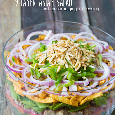 Asian Salad + Asian Salad Dressing