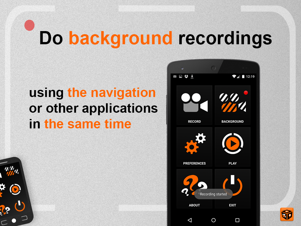 Road Recorder PRO Screenshot